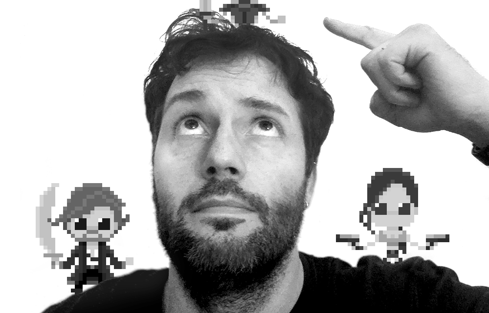 The italian 8-bit Pixel Art Maker The Oluk is the most wonderful story You will read today!