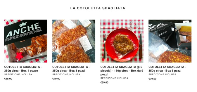Anche - wrong cutlet