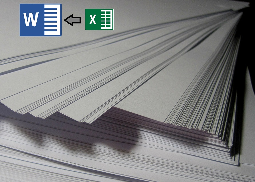 How to create massive documents from excel data