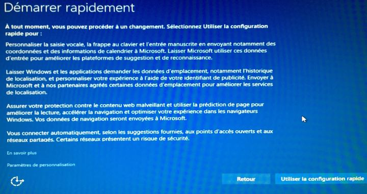 Windows 10 - Démarrer rapidement