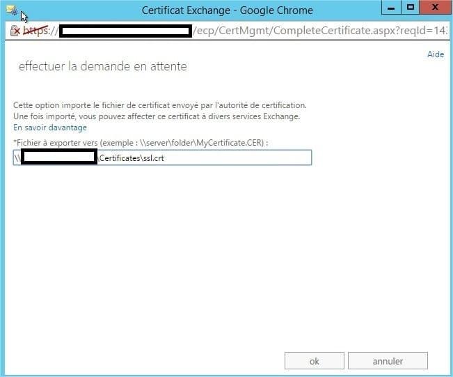 InstallationCertificatPourExchange2013AvecStartSSL_19