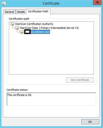 InstallationCertificatPourExchange2013AvecStartSSL_21