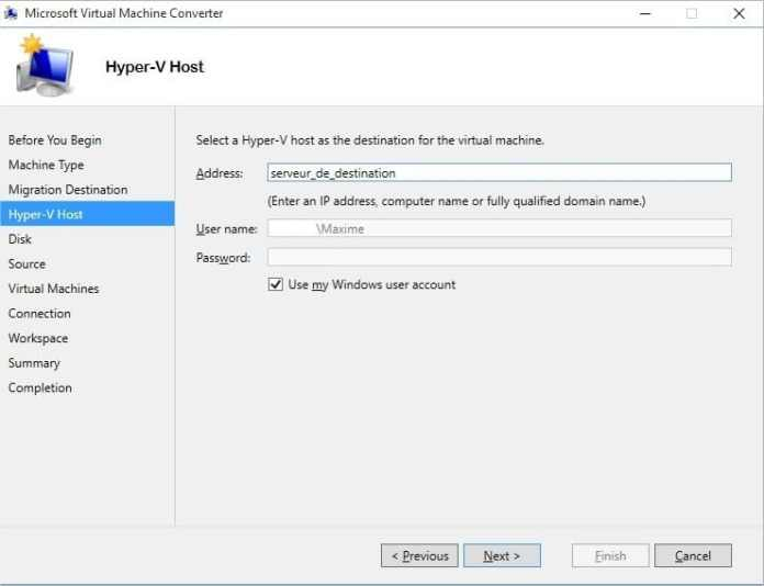 Microsoft Virtual Machine Converter - Image 5