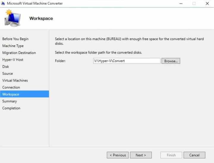 Microsoft Virtual Machine Converter - Image 10