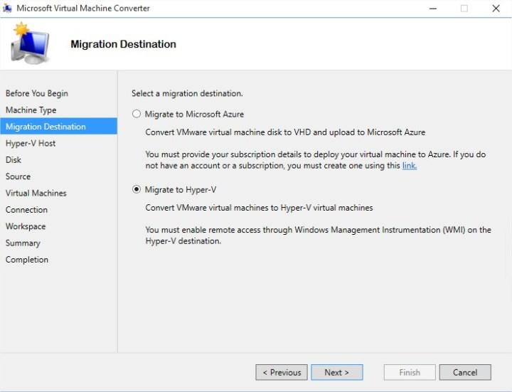 Microsoft Virtual Machine Converter - Image 3