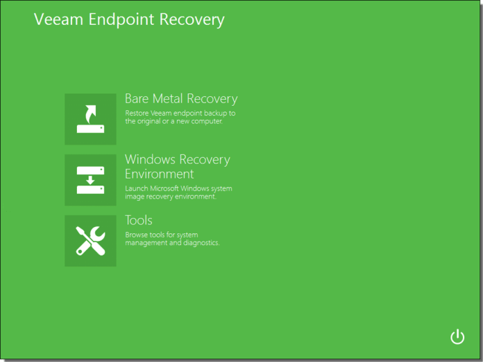 Veeam Endpoint Backup - Recovery