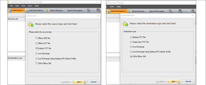 how to open pst file in 365