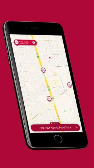 2 3 - تطبيقفود تراكس Food Trucks يخبرك بأماكن عربات الطعام القريبة منك وتقييم الآخرين لها