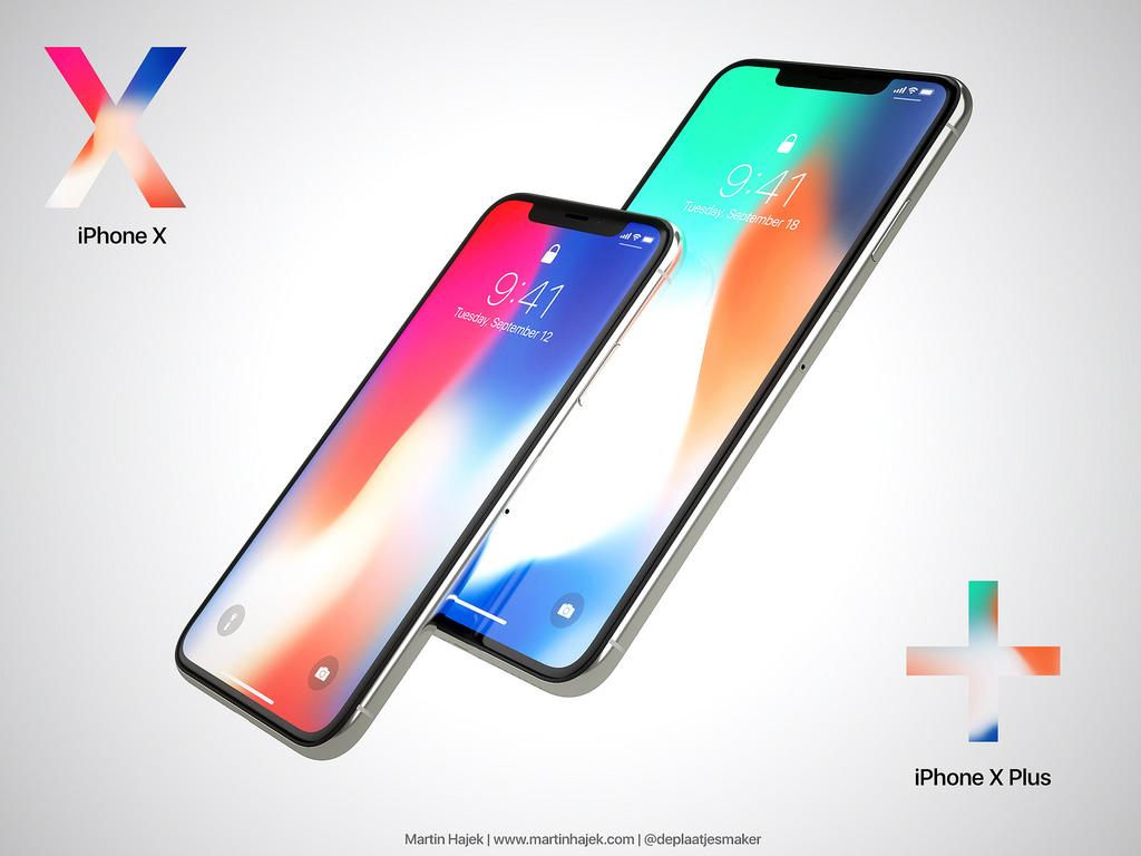 6 هاتف iPhone X Plus - صور تخيلية تتناول التصميم المتوقع لجوال آيفون X بلس المرتقب ظهوره في 2018