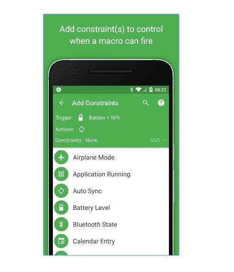 2017 12 03 23 15 20 MacroDroid Device Automation Android Apps on Google Play - تطبيق MacroDroid لتشغيل وظائف في الجوال تلقائيًا عند انشغالك بأمور اخرى