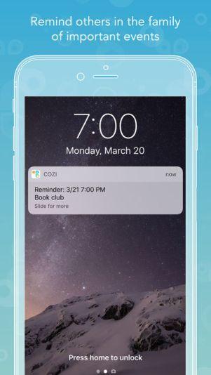 """392x696bb 8 - تطبيق Cozi - أفضل تطبيق """"أسري"""" في 2017 لمشاركة المناسبات وقوائم التسوق بين أفراد الأسرة"""