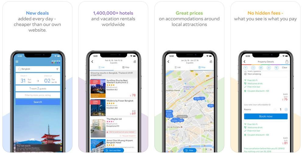 1 1 2 - تطبيق Agoda يقدم أفضل عروض حجوزات الفنادق ورحلات الطيران حول العالم للأندرويد والآيفون
