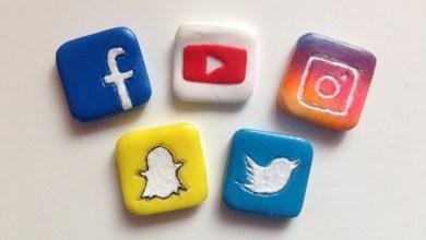 شكل التطبيقات ومواقع التواصل