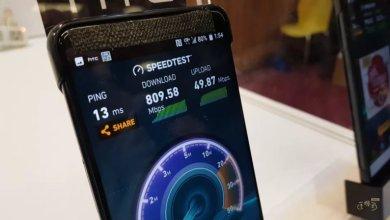 Photo of بالفيديو: ظهور جوال HTC U12 يعمل بشبكة 5G وسرعة نت خيالية والكشف عن بعض مواصفاته