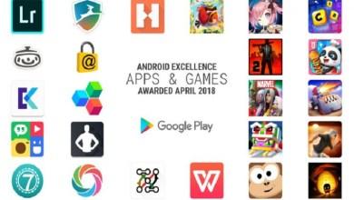 صورة أعلنت جوجل عن أفضل وأبرز تطبيقات متجر جوجل بلاي ضمن برنامج Android Excellence