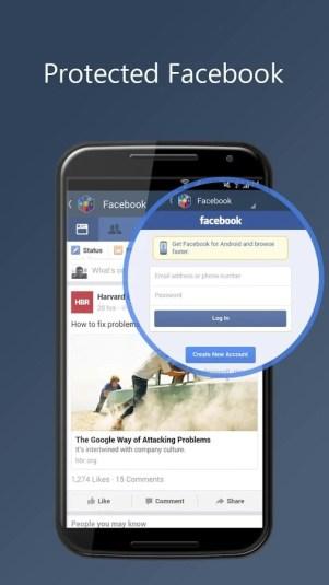 social media 3 - تطبيق Social media Vault لفتح العديد من تطبيقات التواصل الاجتماعي في نفس الوقت
