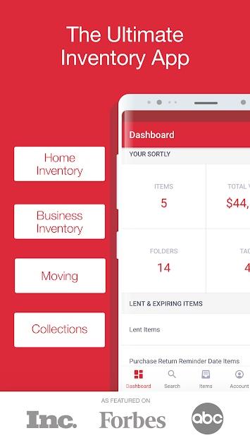 Sortly 4 - تطبيق Sortly يساعدك في التخلص من الفوضي في منزلك للأندرويد و الآيفون