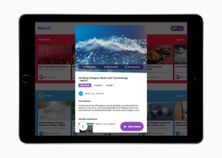 Schoolwork Kahoot apps 062618 - آبل تكشف عن تطبيقها الجديد Schoolwork للمدرسين مجاناً