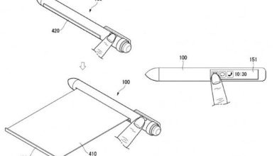 LG patents a crazy rollable smart pen that aims to replace your smartphone 680x430 - إل جي سجلت براءة اختراع قلم بشاشتين بديلاً عن الجوالات