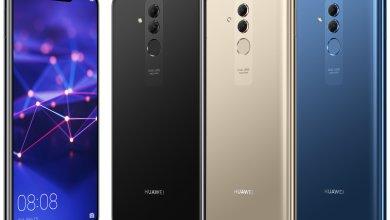 Huawei Mate 20 Lite - تسريب صور رسمية لجوال Huawei Mate 20 Lite بألوان الأسود والذهبي والأزرق