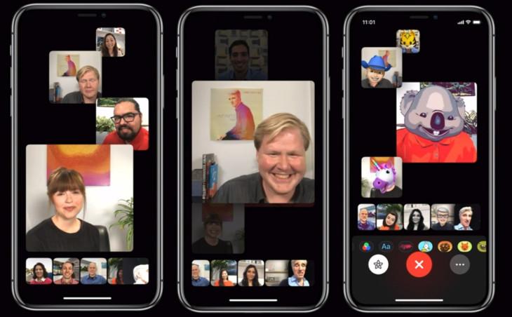 2222 - المكالمات الجماعية في FaceTime تعود من جديد في النسخة التجريبية لنظام iOS 12.1