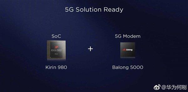 Kirin 980 Balong 5000 5G modem - معالج كيرين 980 الجديد المقدم من هواوي، سيكون أول معالج يدعم شبكات الجيل الخامس