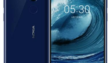صورة الإعلان الرسمي عن هاتف Nokia 5.1 Plus مع كاميرا مزدوجة ومستشعر بصمة