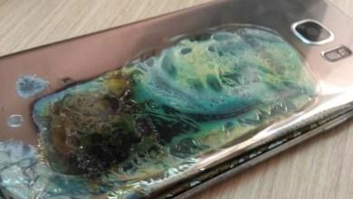 صورة بالصور: جوال جالكسي S7 ايدج يشتعل بالنيران فجأة مما أعاد ذكريات كارثة نوت 7