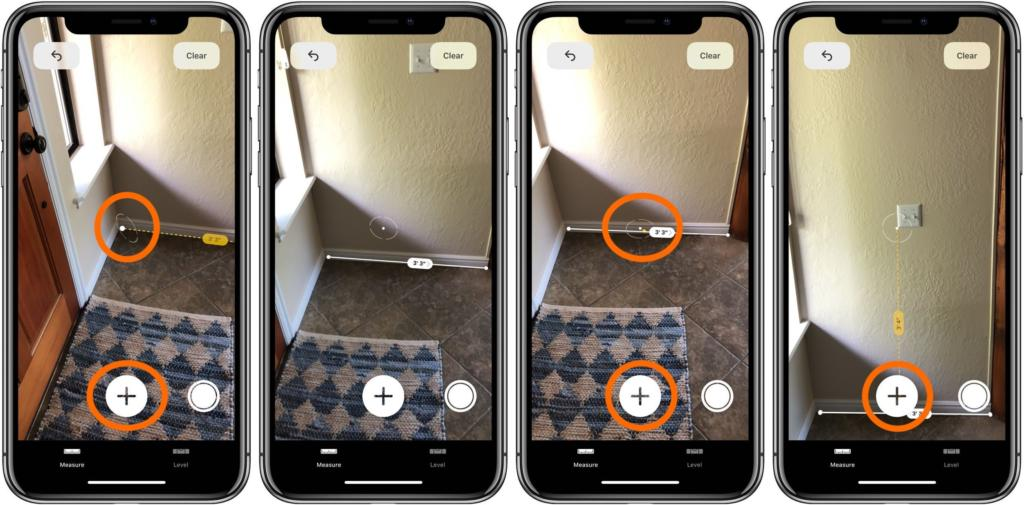 2 - تطبيق Measure أفضل أداة للقياس باستخدام تقنية الواقع المعزز بواسطة جوالك