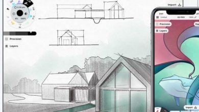 Photo of التطبيق الرائع Concepts للرسم الرقمي الاحترافي للأيفون وآيباد