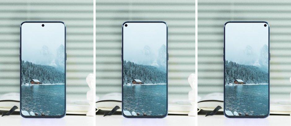 Samsung Galaxy A8s concept - سامسونج تشوق لجوالها الرائد القادم جالكسي A8s والذي سيأتي بشاشة مثقوبة