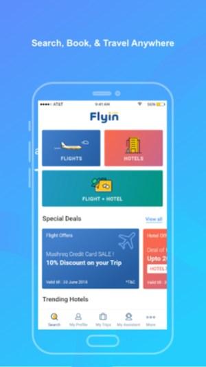 1.webp  - تطبيق Flyin.com - طيران و فنادق لحجز الفنادق ورحلات الطيرات والحصول على أفضل الأسعار