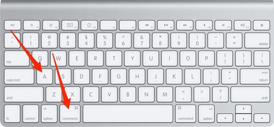 3 - بالصور.. تعرف على أهم اختصارات لوحة مفاتيح أجهزة آبل ماك لتسهل عليك استخدامها