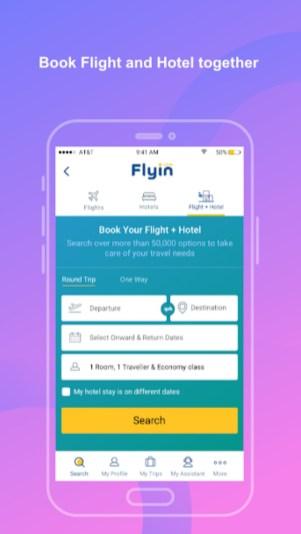 4.webp  - تطبيق Flyin.com - طيران و فنادق لحجز الفنادق ورحلات الطيرات والحصول على أفضل الأسعار