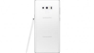 صورة سامسونج تكشف الستار رسمياً عن النسخة البيضاء الرائعة جوال Galaxy Note 9 مع جائزة