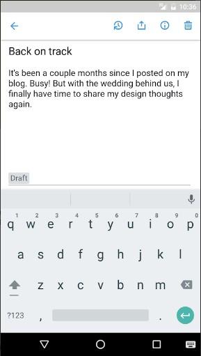 Screenshot 3 - للتحميل المجاني تطبيق Simplenote لتدوين الملاحظات لهواتف الأندرويد