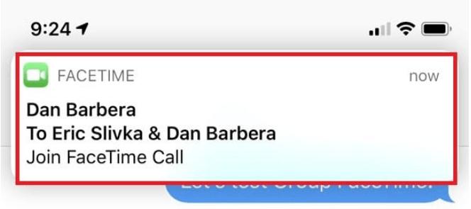 Screenshot 8 - هكذا تستطيع بسهولة إجراء مكالمات جماعية في فيس تايم بنظام التشغيل iOS 12
