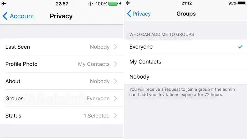 whatsapp المجموعة - واتساب تختبر ميزة جديدة تسمح للمستخدمين بتحديد من يمكنهم إضافتهم للمجموعات