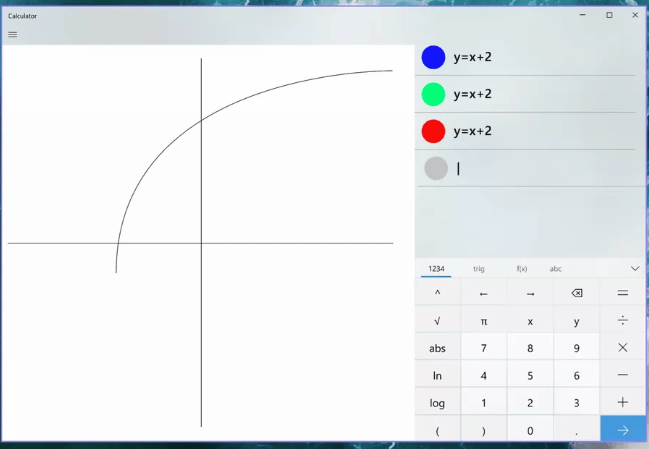 ويندوز 10 يحصل على آلة حاسبة جديدة تدعم الرسوم البيانية ...