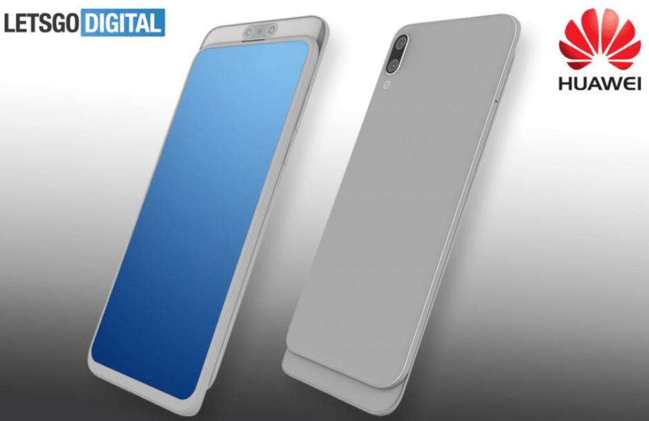 Huawei slider phone 940x610 - اصدار جديد من شركة هواوي بتصميم منزلق ينكشف في براءة اختراع جديدة