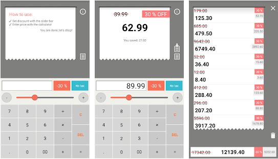 33 1 - تطبيق Discount Calculator لحساب الخصومات على السلع خاصة لأصحاب الشركات والمحلات