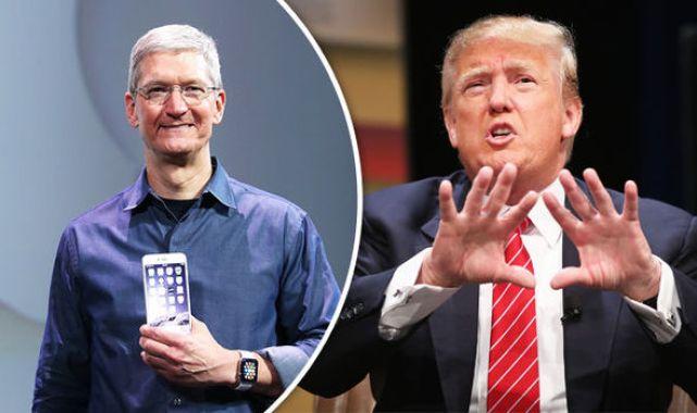 apple trump - دونالد ترامب إلى رئيس آبل: زرم هوم أفضل بكثير في جوالات آيفون