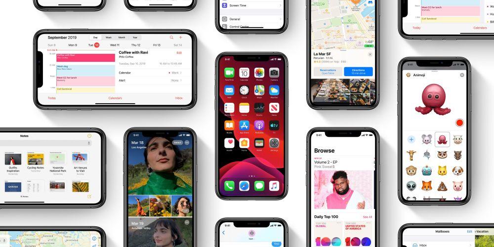 iOS 13 1 - بالأرقام.. نظام iOS 13 ينتشر بسرعة ويصل إلى أكثر من نصف أجهزة آيفون بالعالم