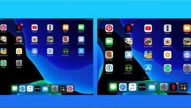 صورة طريقة تغيير حجم الخط وأيقونات التطبيقات على أجهزة آيباد بعد تحديث iPadOS 13