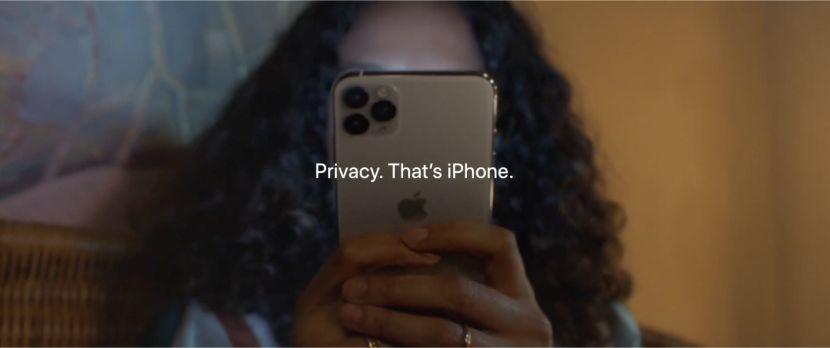 iPhone privacy - فيديو.. آبل تسلط الضوء على ميزة الخصوصية في جوالات آيفون بإعلان جديد