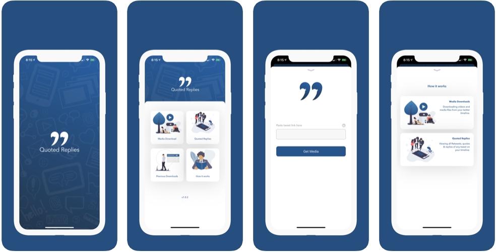 2019 11 11 13 20 53 Window - تطبيق Quoted Replies يعمل مع تطبيق تويتر لعرض جميع اقتباسات التغريدة في مكان واحد