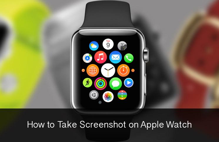 How to Take Screenshot on Apple Watch - طريقة التقاط صور الشاشة لساعة Apple Watch وعرضها على جوال آيفون