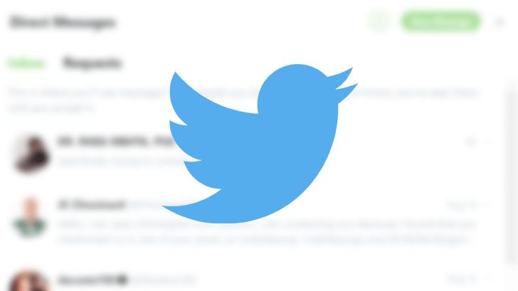 dm requests twitter - تويتر تؤجل حملة حذف الحسابات الخاملة بسبب الأشخاص المتوفين