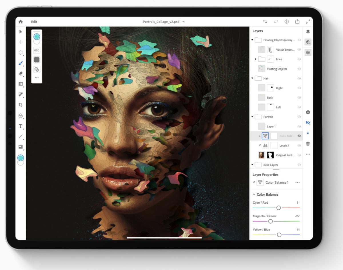 photoshop ipad 100799550 large - أخيرا أدوبي تطلق تطبيق فوتوشوب كامل لأجهزة آيباد
