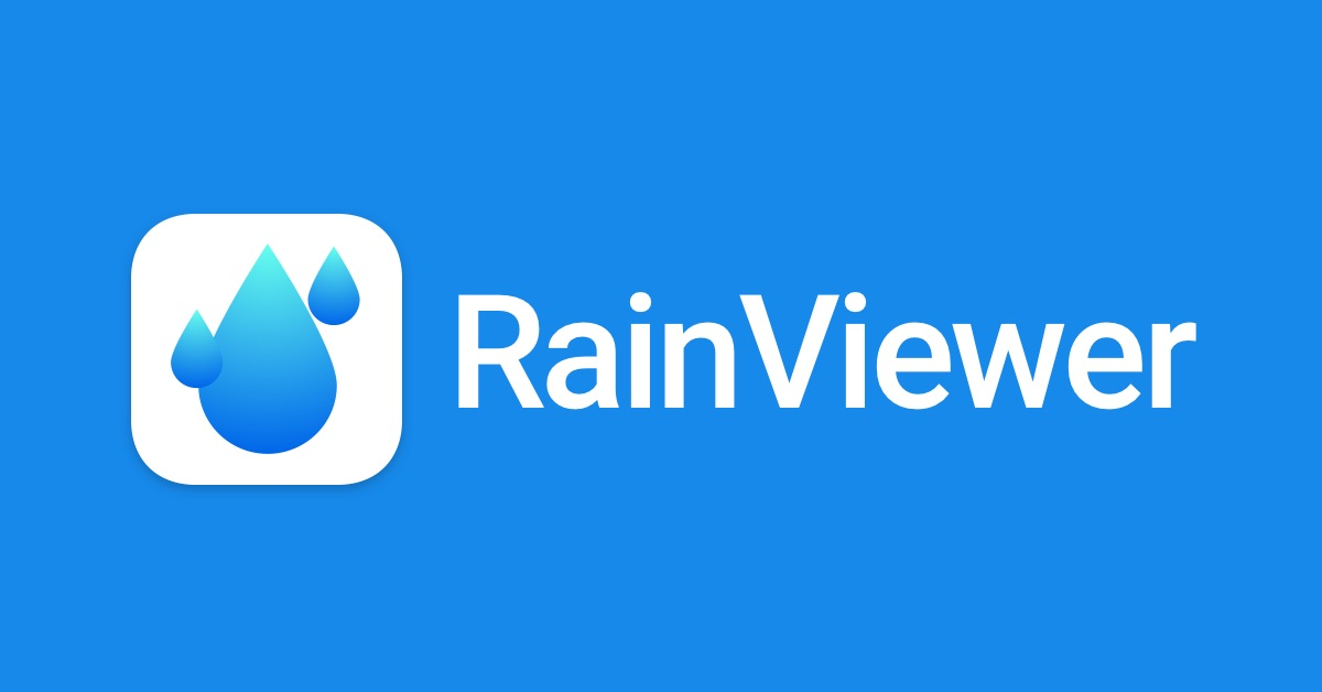 rainviewer title image - تطبيق RainViewer لأفضل أخبار الطقس على المدى القصير وإخبارك بالتغيرات الطارئة